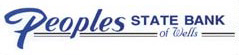 Peoples State Bank of Wells Logo