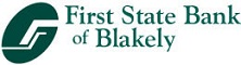 First State Bank of Blakely Logo